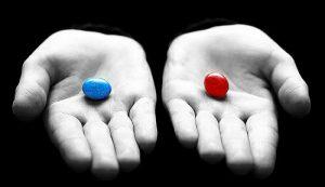 Pillola blu o pillola rossa?