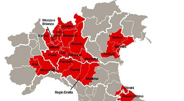 Modenesi da domani chiusi dentro la provincia. | Tiziano Solignani